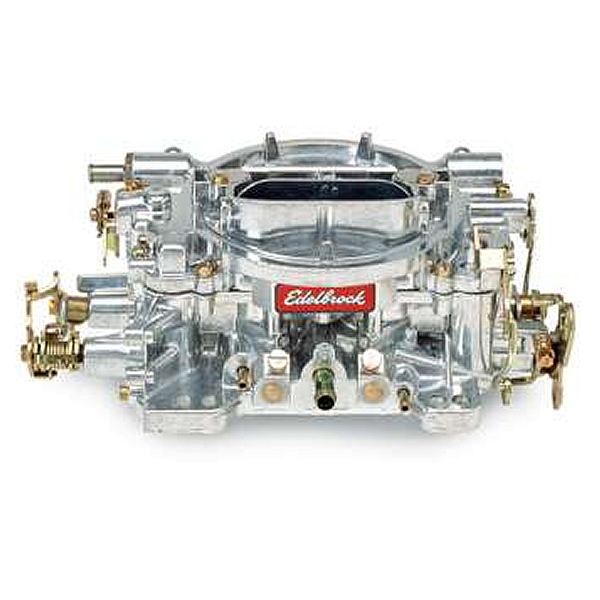 Blazerparts.nl - Edelbrock 1405 Carburetor, Performer, 600 cfm, 4-Barrel, Square Bore, Manual Choke, Single Inlet, Silver