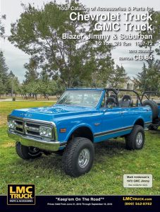1967-1972 Chevrolet / GMC Truck, Blazer, Jimmy and Suburban
