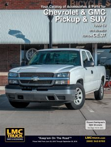 1999-2012 Chevrolet and GMC Truck 2000-2010 Chevrolet and GMC SUV