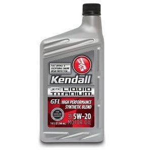 Blazerparts.nl - Kendall 5w20 olie 1 liter