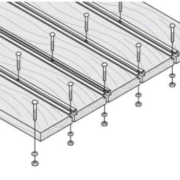 Bed wood kit-oak 16pc shortbed 58-59