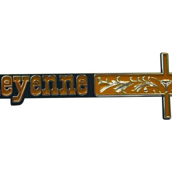 Cheyenne dashboard embleem