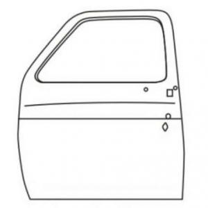 Door shell left hand Chevrolet GMC '77-'91