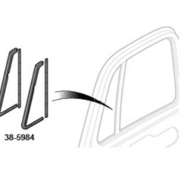 Vent window seal kit Chevrolet GMC 51-55