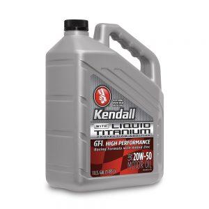 Kendall High Performance Motoroil 20W50 Liquid Titanium 1 Gallon. Blazerparts.NL