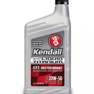 Kendall High Performance Motoroil 20W50 Liquid Titanium 1Ltr. - Blazerparts.nl